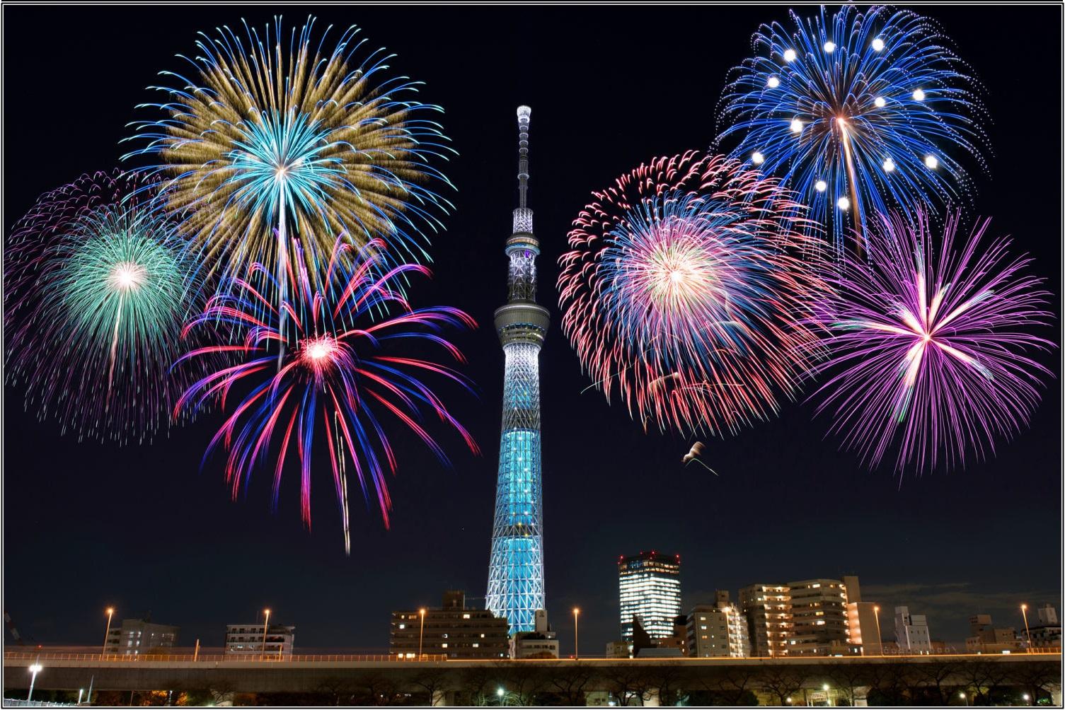 隅田川花火大会,2016