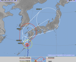 台風12号,2016,気象庁,最新,進路,予想