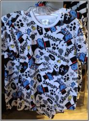 スヌーピーTシャツ(柄)