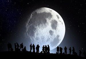 2016,中秋の名月,満月,時間