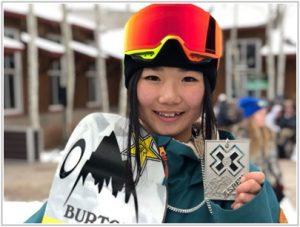 動画 岩渕麗楽 スノーボード かわいい